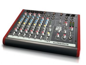 Allen & Heath ZED-10FX multi purpose stereo mixer with effects